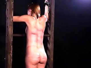 Beautiful japanese Girl Caned whipped