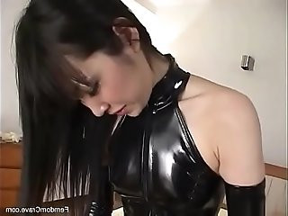 Perfect japanese mistress pegging