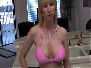 Hot Busty Mom With Son