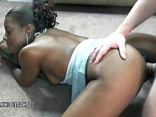 Black hottie Anastasia gets her wet pussy fucked hard