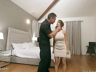 Officer And Wife Fucks In Front Of A Pathetic Criminal Alexis Fawx