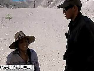 Mature brunette fuck and sport Mexican border patrols have rummaged
