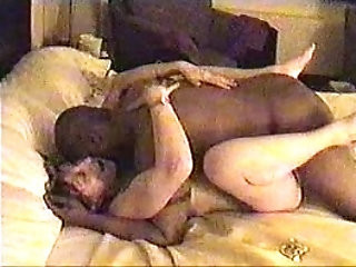 Cheating hotwife Fara forces cuckold husband to watch her taking black cock