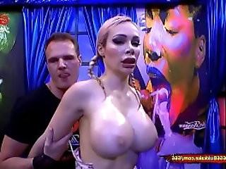 Chessie Kay Piss Covered Massive Tits
